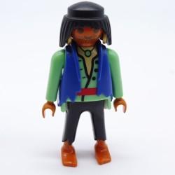 Playmobil Bouclier Rond Marron & Gris Clair