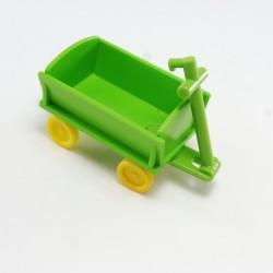 Playmobil Gilet Blanc Poches Grises Abimé Dos