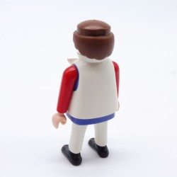 Playmobil Pair of Gray Legs Rounds Red Moneys Boots