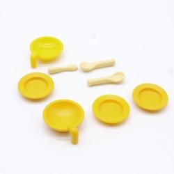 Playmobil Pack of 2 Brown Horsebrushes