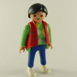 Playmobil Dark Orange waistcoat Pockets