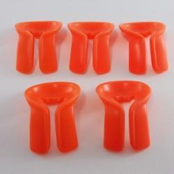 Playmobil Gilet Court Orange Fluo