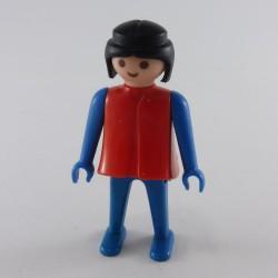 Playmobil Luge Bleue Enfant avec Poignée