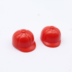 Playmobil 21601 Homme Rouge avec Bottes Jaunes & Gilet Orange