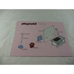 Playmobil Siege Gris avec Poignée à Droite pour Wagon Passager