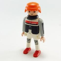 Playmobil Bouclier Rond Noir et Gris