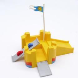 Playmobil Panneau avec Horaires de Gare Vintage
