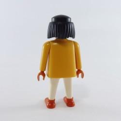Playmobil Homme Chevalier Noir Armure Gris Foncé