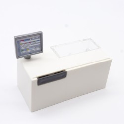 Playmobil Man Blue Orange and White Vikings Boots