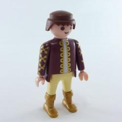 Playmobil Homme Cowboy Sheriff Maron et Rose