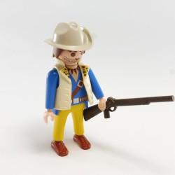Playmobil Casque à Pointe Bleu Pointe Dorée Policier 1900