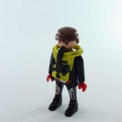 Playmobil Enfant Fille Jaune Noir Violet 3775