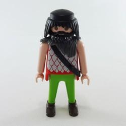 Playmobil Homme Noir et Jaune Tenue de Plongée avec Bouteille