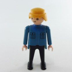 Playmobil Homme Rouge et Noir Future Planet
