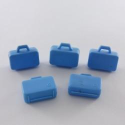 Playmobil Enfant Garçon Lapin Bleu et Blanc