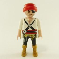 Playmobil Enfant Fille Lapin Jaune et Rouge avec Tablier