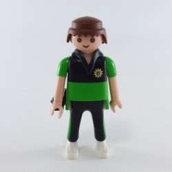 Playmobil Enfant Fille Lapin Orange et Jaune