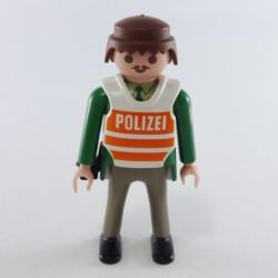 Playmobil Enfant Fille Lapin Vert et Blanc avec Col Rouge