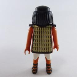 Playmobil Man's Head with Yellow Semi-Long Hair