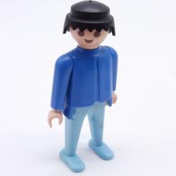 Playmobil Cheveux pour Homme ou Femme Petite Queue Noire