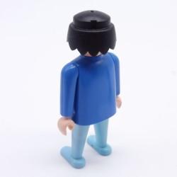 Playmobil Cheveux pour Homme ou Femme Petite Queue Marron