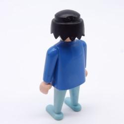 Playmobil Cheveux pour Homme ou Femme Petite Queue Jaune