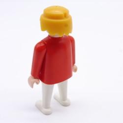 Playmobil Cheveux pour Homme Petite Queue Orange Soldat
