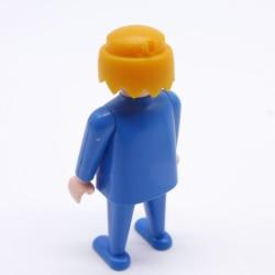 Playmobil Cheveux pour Homme Petite Queue Noir Soldat