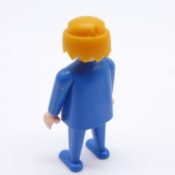 Playmobil Man's Black Small Queue Hairs for Soldier