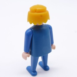Playmobil Man's Yellow Small Queue Hairs for Soldier