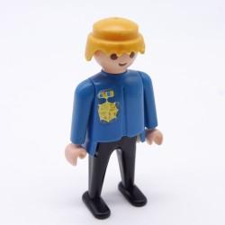 Playmobil Cheveux pour Homme Petite Queue Marron Soldat