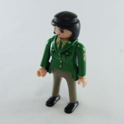 Playmobil Cheveux pour Homme Style Pirate Noir