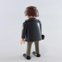 Playmobil Lot de 2 Cheveux pour Homme Modernes Gris