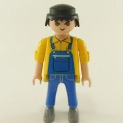 Playmobil Cheveux pour Homme Mi Long Noir