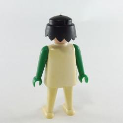 Playmobil Lot de 2 Cheveux pour Homme Frisés Marrons
