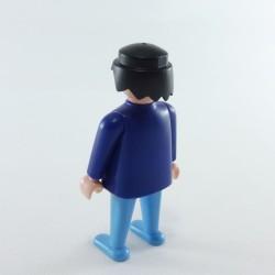 Playmobil Petit Coffre Gris avec Couvercle et Dessin Dinosaure