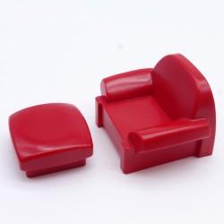 Playmobil Coffre Marron et Gris Clair