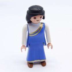 Playmobil Lot de 2 Rideaux Bleus avec Barres Maison 1900 5300 Sales