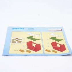 Playmobil Petite Barrière Soubassement Steck Marron Foncé 4305 3433