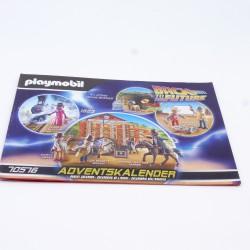 Playmobil Poussette Enfant Jaune avec Poupée et Nounours