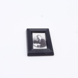 Playmobil Woman Modern Brown White and Red