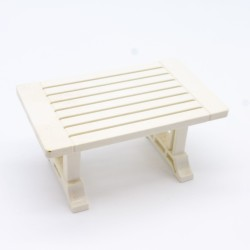 Playmobil Female Modern Pink and White Skier