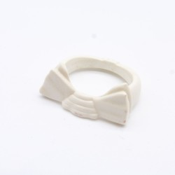 Playmobil Woman Modern Bronze Yellow and Green with Yellow Scarf