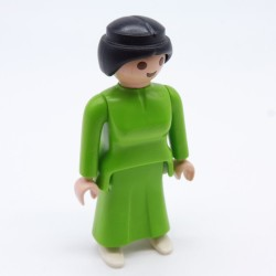 Playmobil Modern Woman in Yellow and Blue Diving Suit