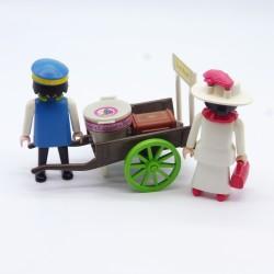 Playmobil Chapeau Cowboy Noir Bord Relevé