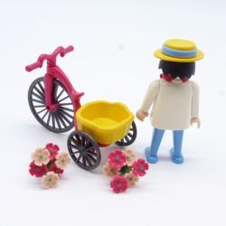 Playmobil Buste Blanc Col Ouvert avec Bras Blancs et Noirs