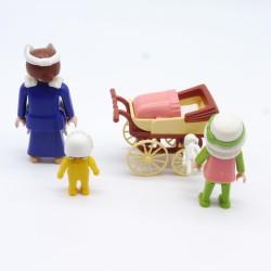 Playmobil Lot de 2 Chapeaux Bonnets Blanc et Marron