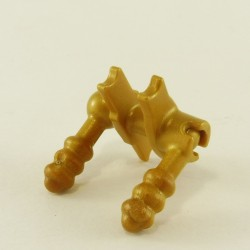 Playmobil Lot de 2 Cols Foulards de Bandit Oranges