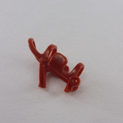 Playmobil Blue Woman with Black Glasses