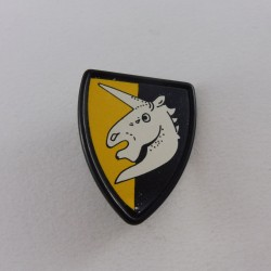 Playmobil Blue Policeman with Cap and Revolver